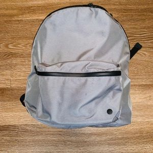 LULULEMON gray backpack